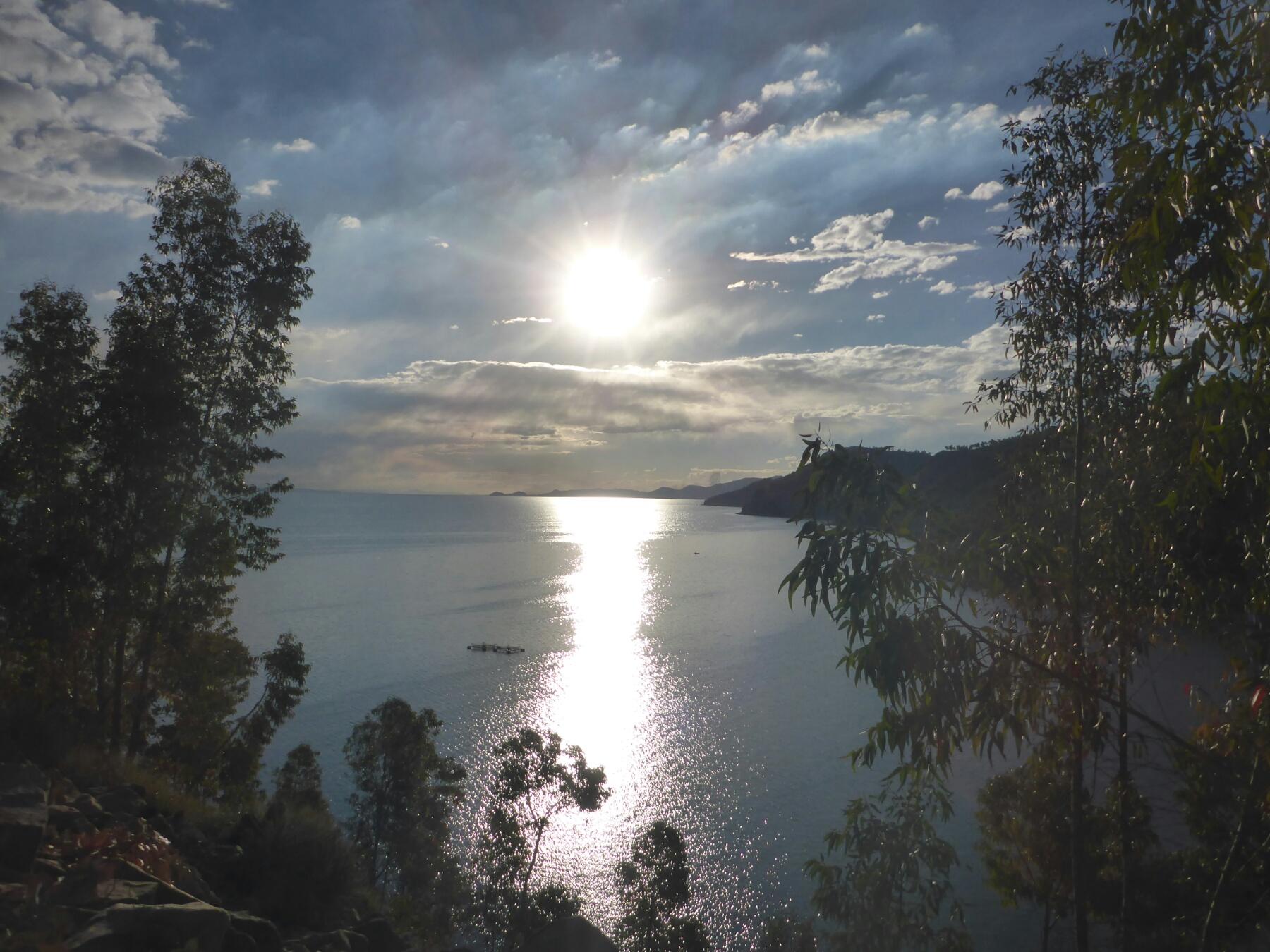 Das Ostufer des Titicacasees