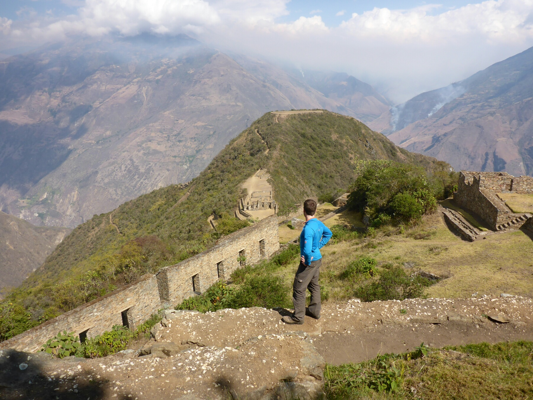 Von Choquequirao nach Machu Picchu